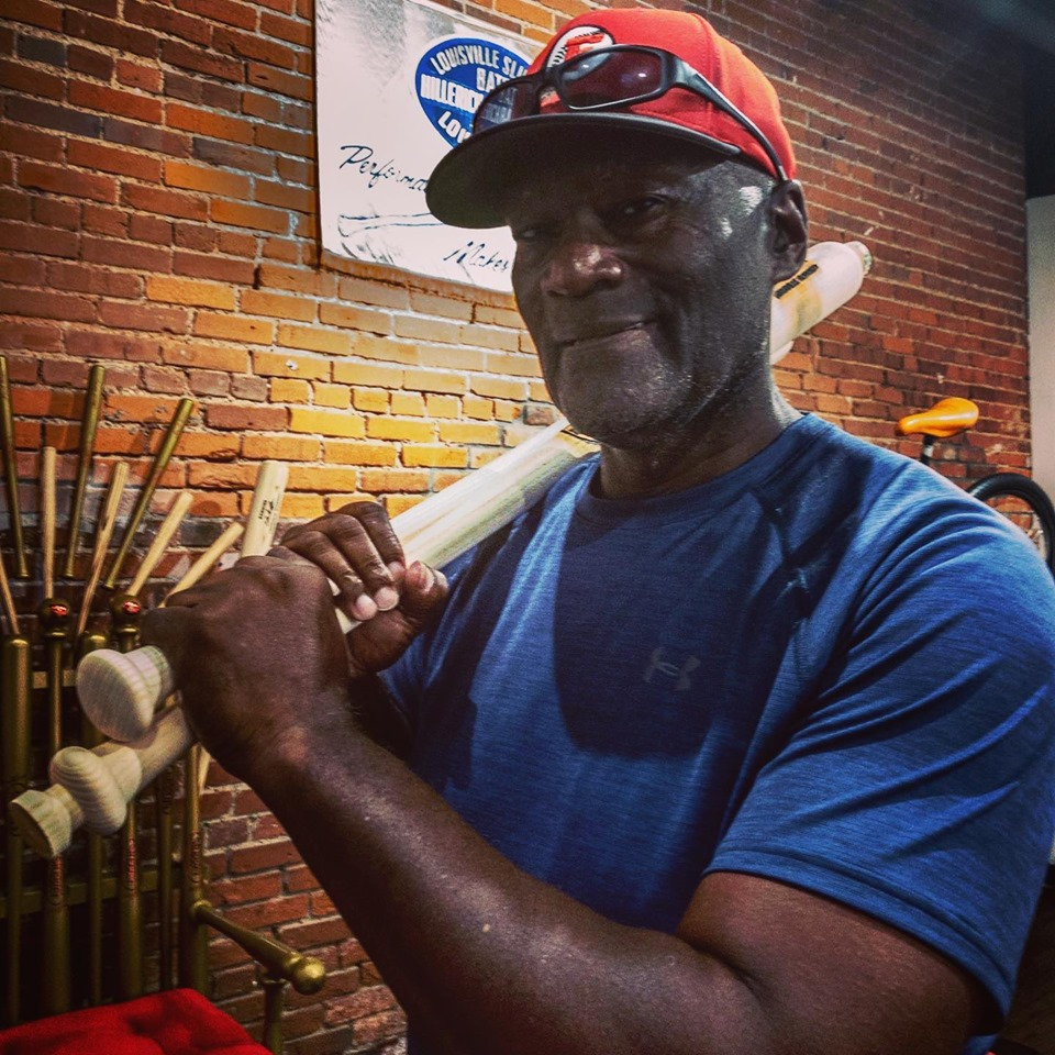Finishing Touches Reds Legend George Foster And His